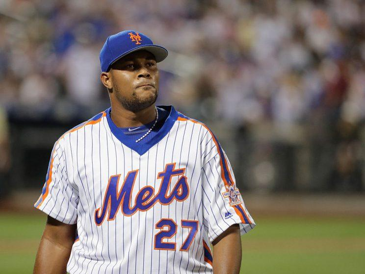 Mets reliever Jeurys Familia arrested on domestic violence charge
