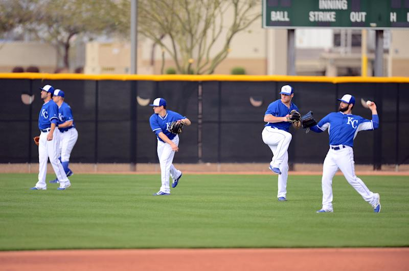 MLB: Kansas City Royals-Workout