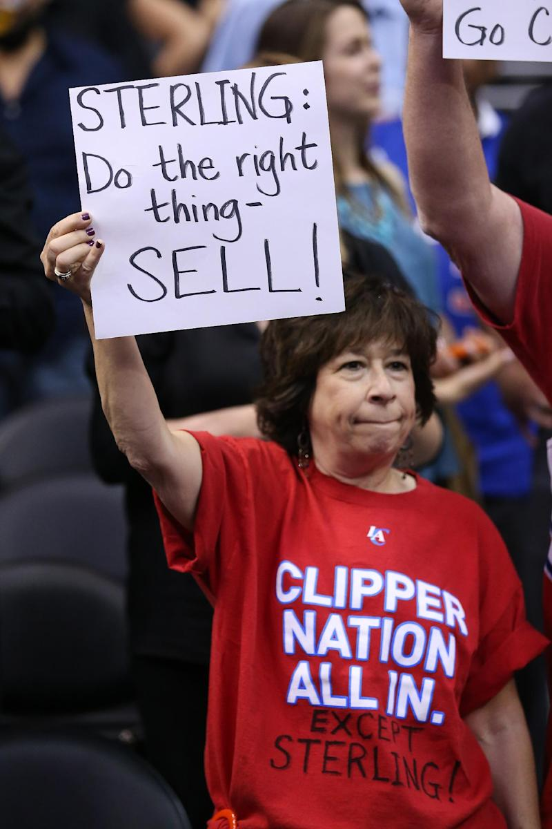 NBA owners to hold 1st discussions on Sterling