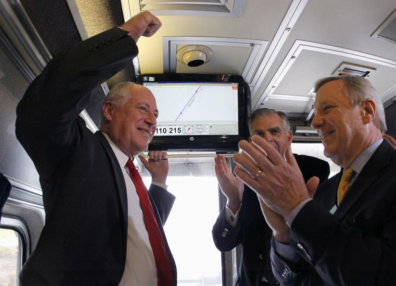 Report: Midwest firms coupled to high-speed rail