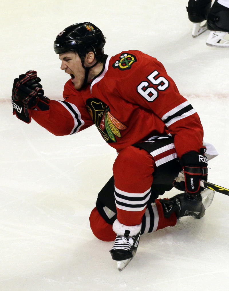 Blackhawks C Shaw out for Game 2 against Wild