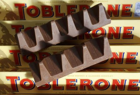 Toblerone has changed its shape and people are very upset