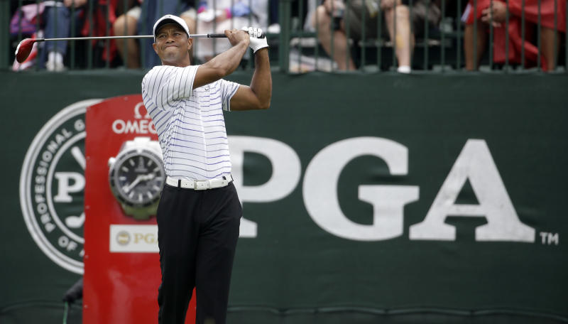 Column: Woods not done in majors, but he's close