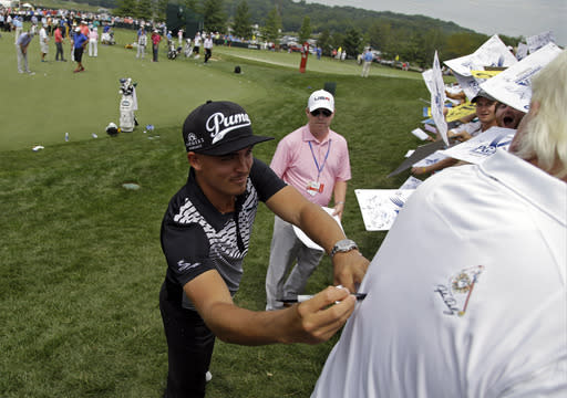 Fowler playing week before majors and liking it
