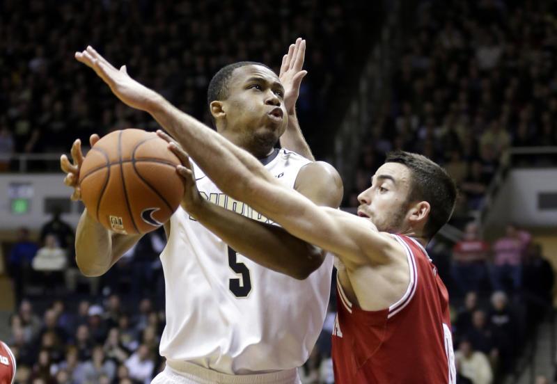 Carter leads Purdue in 82-64 romp against Indiana
