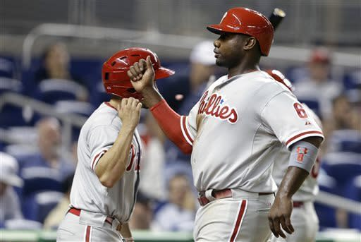 Young and Howard lift Phillies over Marlins