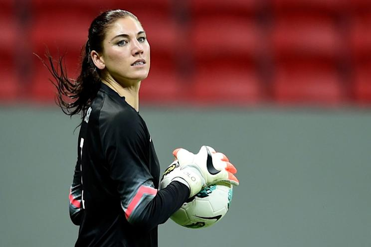 Hope Solo suspended for 'cowards' remark