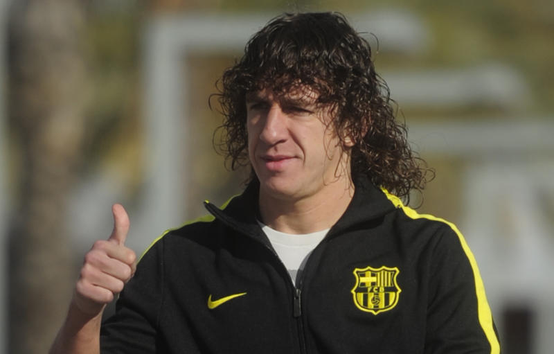 Puyol says goodbye to Barca after 15 seasons