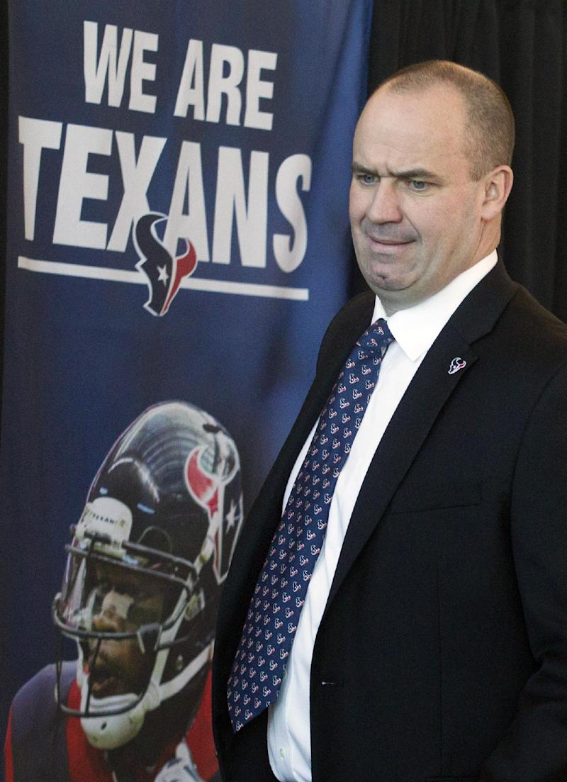O'Brien takes over as Texans coach