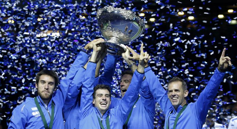 Orsanic honoured by Davis Cup success