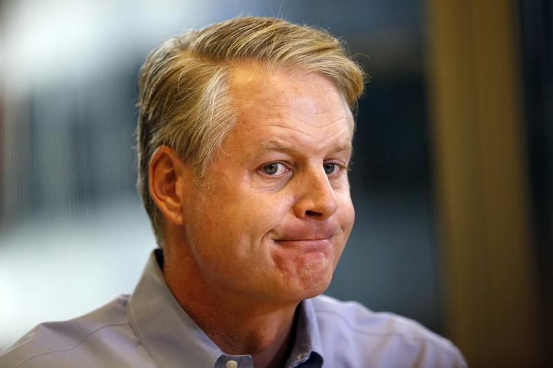 John Donahoe, chief executive of eBay, speaks at the Reuters Global Technology Summit in San Francisco