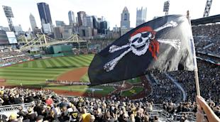 Pirates fans have been raising the Jolly Roger plenty this season. (AP)