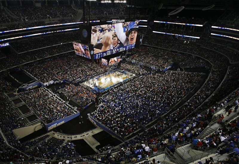 Final Four sets NCAA attendance record at 79,444