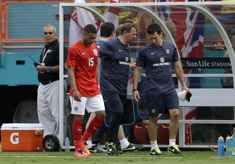 Oxlade-Chamberlain injury decision at last moment