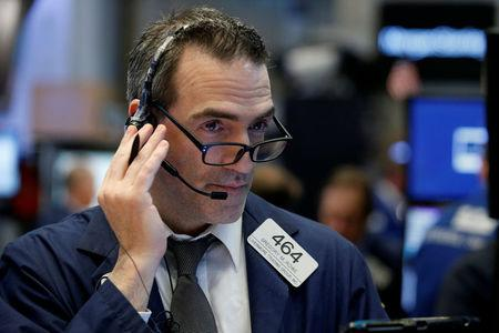 US stock indexes mostly down in afternoon trading; oil rises