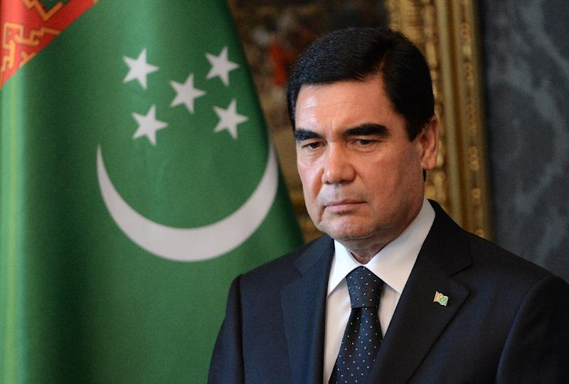 Image result for free to use image of turkmenistan president