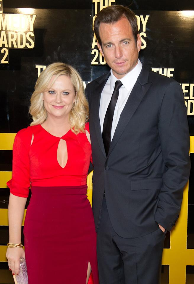 NEW YORK, NY - APRIL 28:  Actors Amy Poehler (L) and Will Arnett attend The Comedy Awards 2012 at Hammerstein Ballroom on April 28, 2012 in New York City.  (Photo by Gilbert Carrasquillo/FilmMagic)