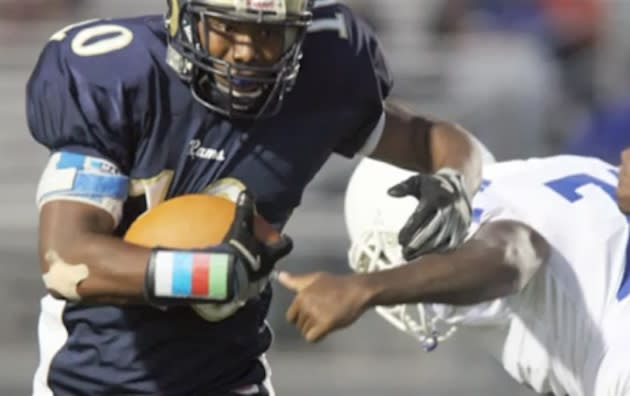 Lafayette running back Will Capers — YouTube