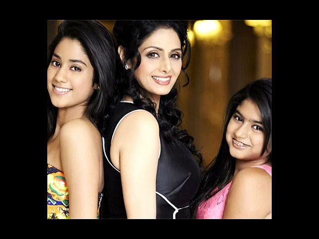 <b>10. Sridevi:</b> No, she is not too old to be on this list! Did you see her in 'English Vinglish'? That woman does not seem to age – at all! With two daughters, Jhanvi and Khushi, Sridevi is the finale of this hot list. Recent Padmashri awardee, this diva can give many tinsel town newbies a run for their money still.