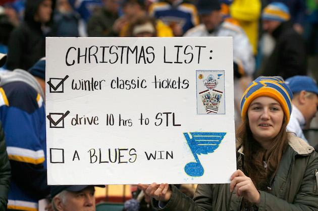 NHL: Tarasenko powers Blues to Winter Classic win
