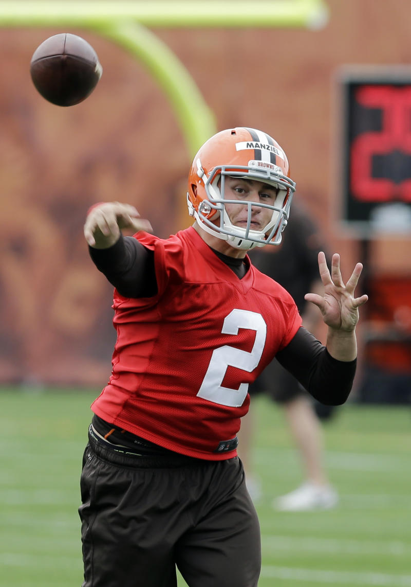 Manziel to throw out first pitch at Indians game