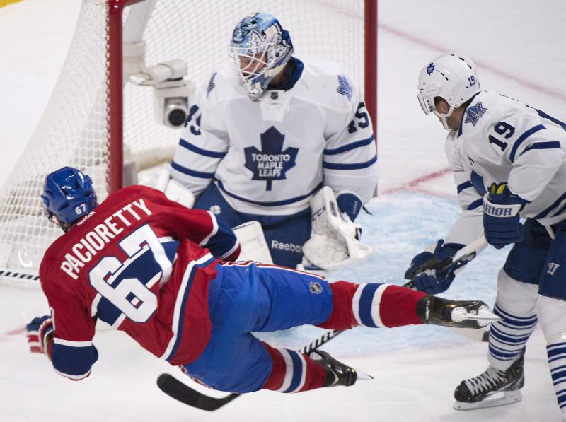 Pacioretty lifts Canadiens over Leafs 4-3 in OT