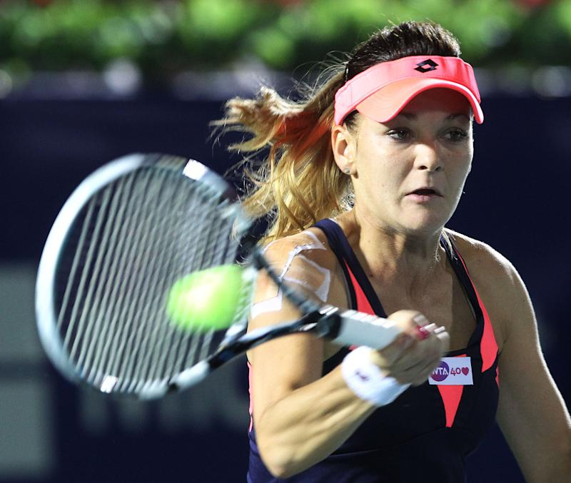 Radwanska reaches quarters at Korea Open