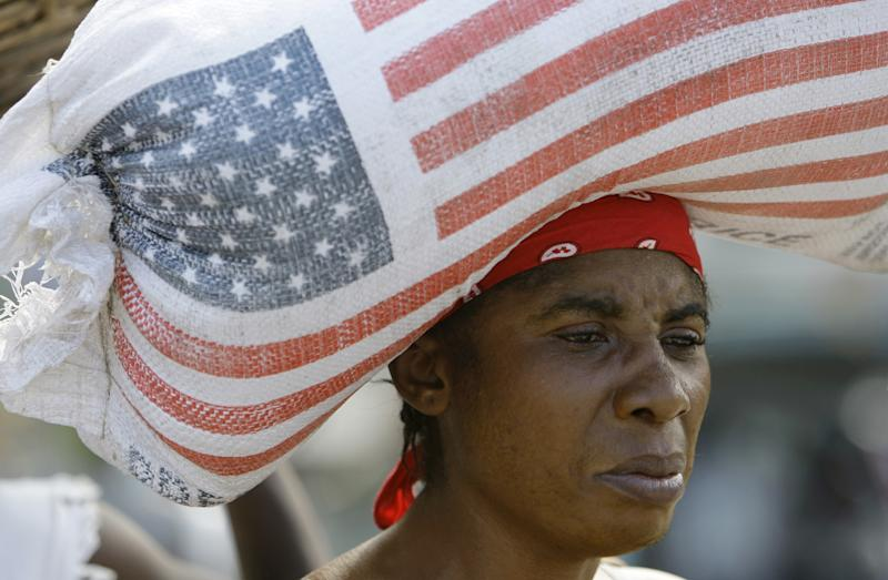 Aid groups: US should send cash, not food, abroad