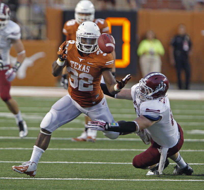 Big plays spark Texas over New Mexico State 56-7