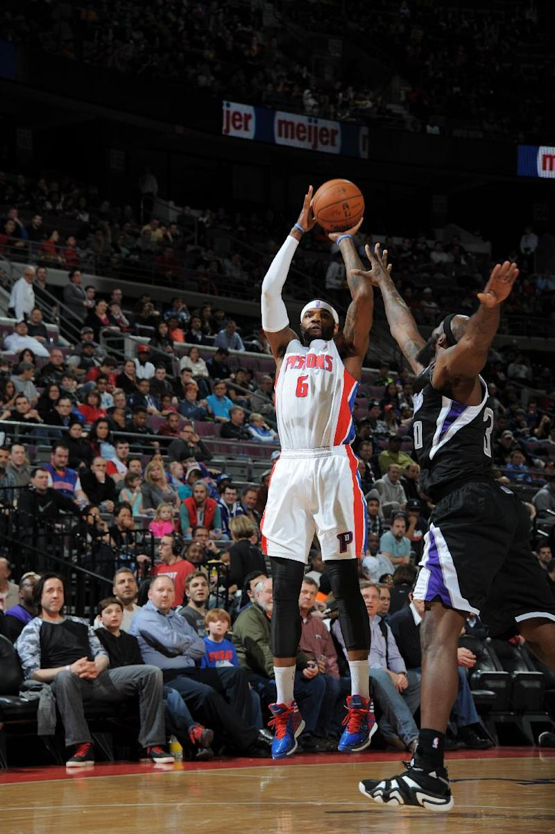 Pistons clamp down on Kings in 99-89 win