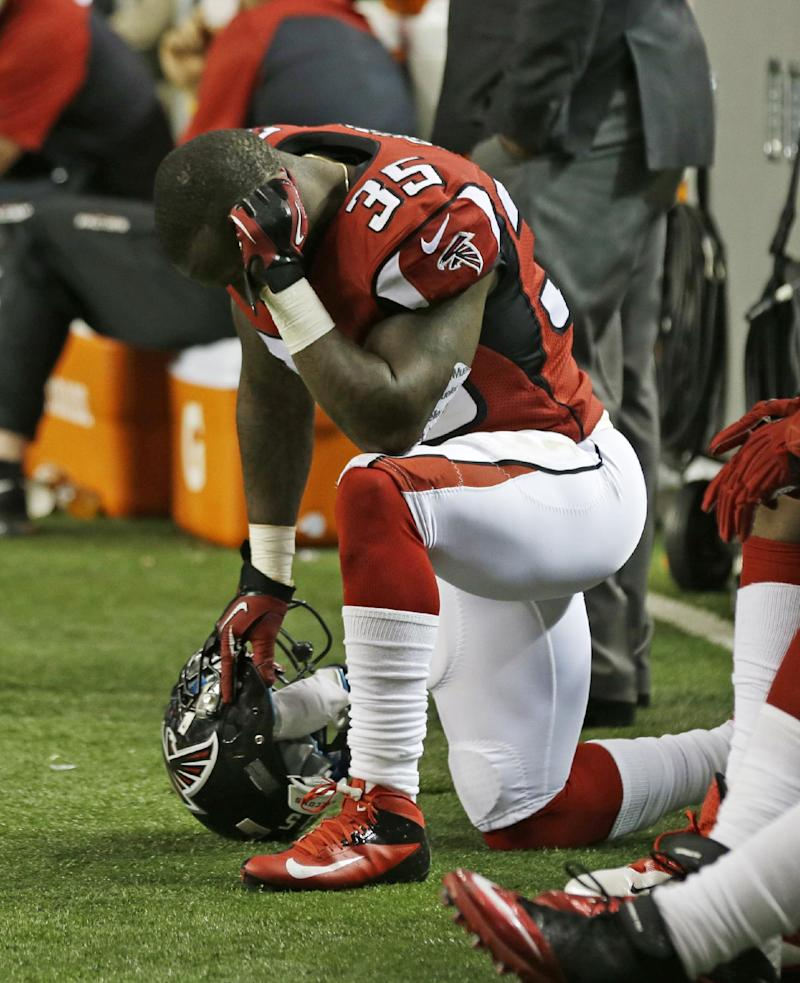 Falcons in danger of first-to-worst finish in NFC