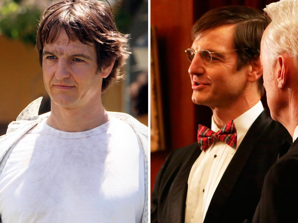 """Tom Cruise's cousin William Mapother first creeped us out as evil doctor Ethan on """"Lost."""" And he kept the creep factor going when he popped up last season as Roger's insurance pal Randall Walsh, who proposed selling property insurance with an image of a Molotov cocktail and a coupon. Hollywood casting directors, if you need a creepy weirdo, look no further."""