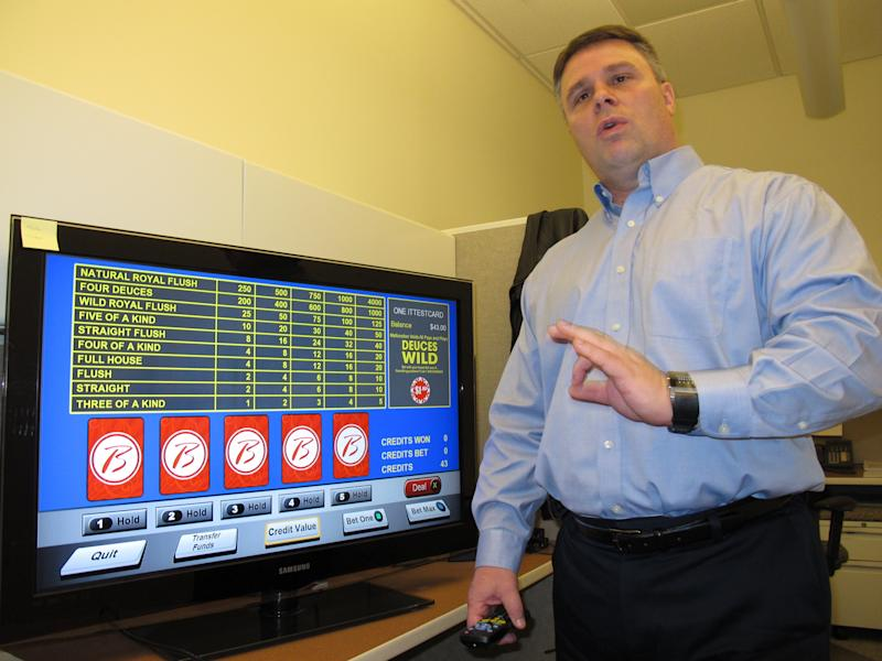 No need to leave the room: Bet by TV at NJ casino