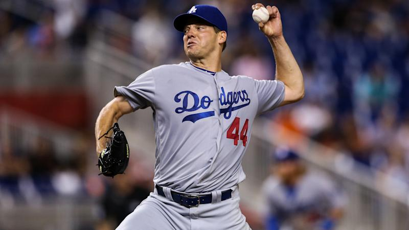 Dodgers keep free-agent pitcher Rich Hill with 3-year deal
