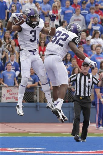 Pachall leads No. 16 TCU to 20-6 win over Kansas