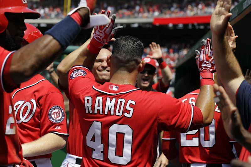Ramos, Jordan lead Nationals to 14-1 rout of Mets