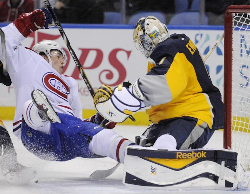 Enroth not traveling with Sabres on road trip