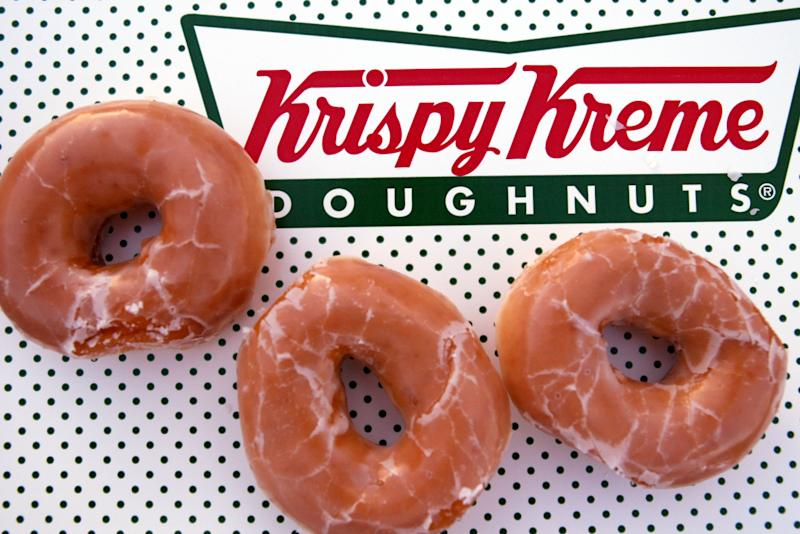 Alert: Krispy Kreme Is Giving Away Free Doughnuts for the Next Three Weeks