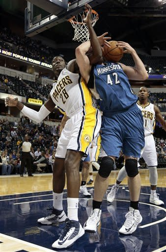 George scores 19 to help Pacers top Timberwolves