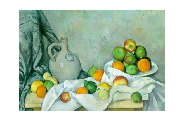 Rideau, Cruchon et Compotier by Paul Cézanne, $60.5 million.