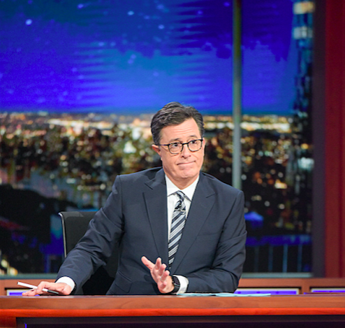 Stephen Colbert uses NSFW drawing to examine Devin Nunes' conflicts of interest