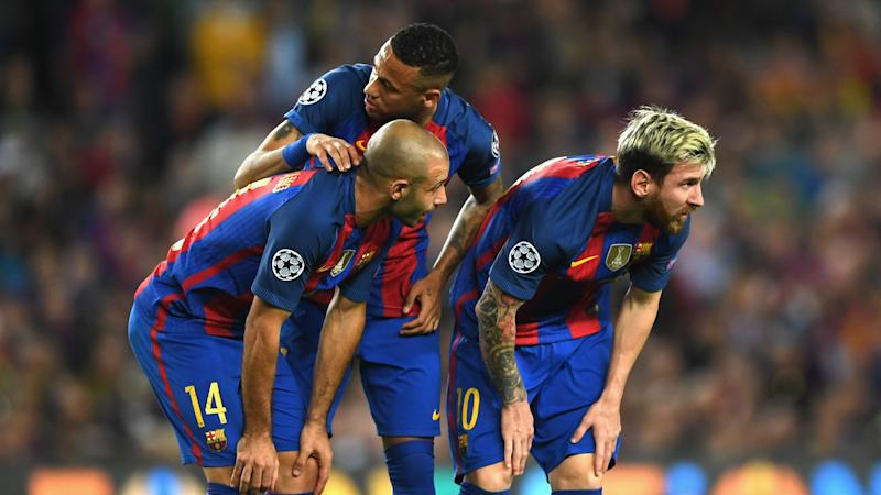 Barcelona fail to breach nine-man Malaga
