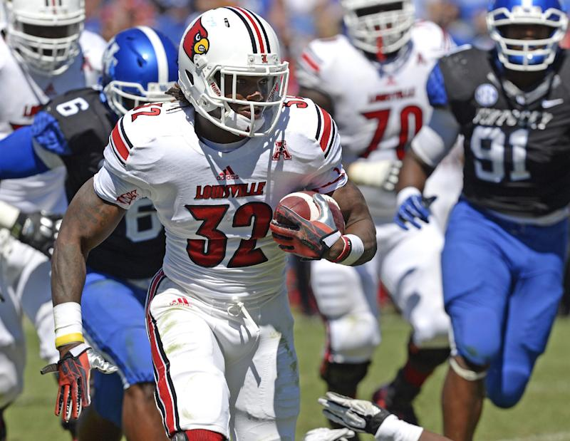Strong, No. 7 Cardinals pleased running game