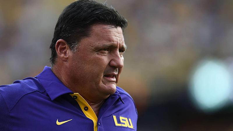Ed Orgeron LSU's 'backup plan' if Tom Herman falls through