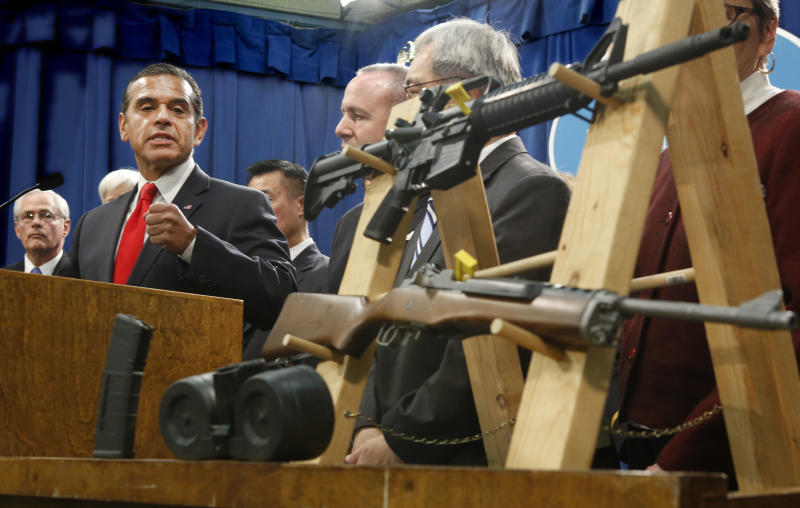 Calif. seeks to adopt nation's toughest gun laws