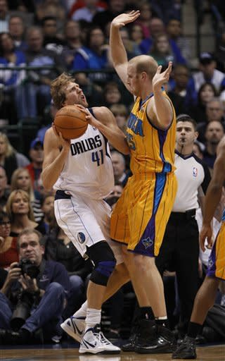 Mavs win 4th straight at home, 96-81 over Hornets