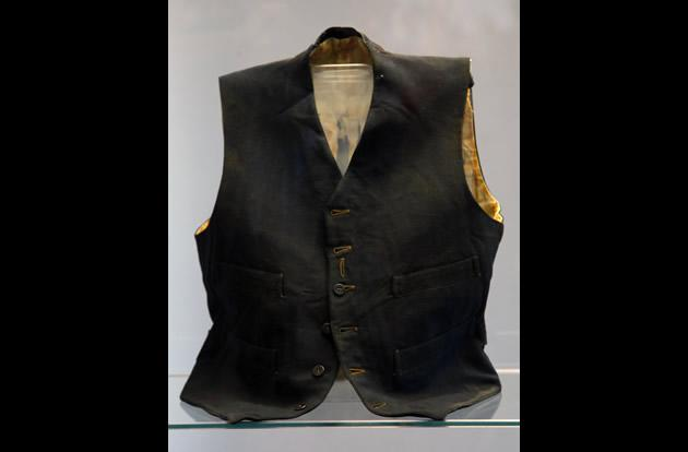 Vest belonging to a third class passenger named William Henry Allen