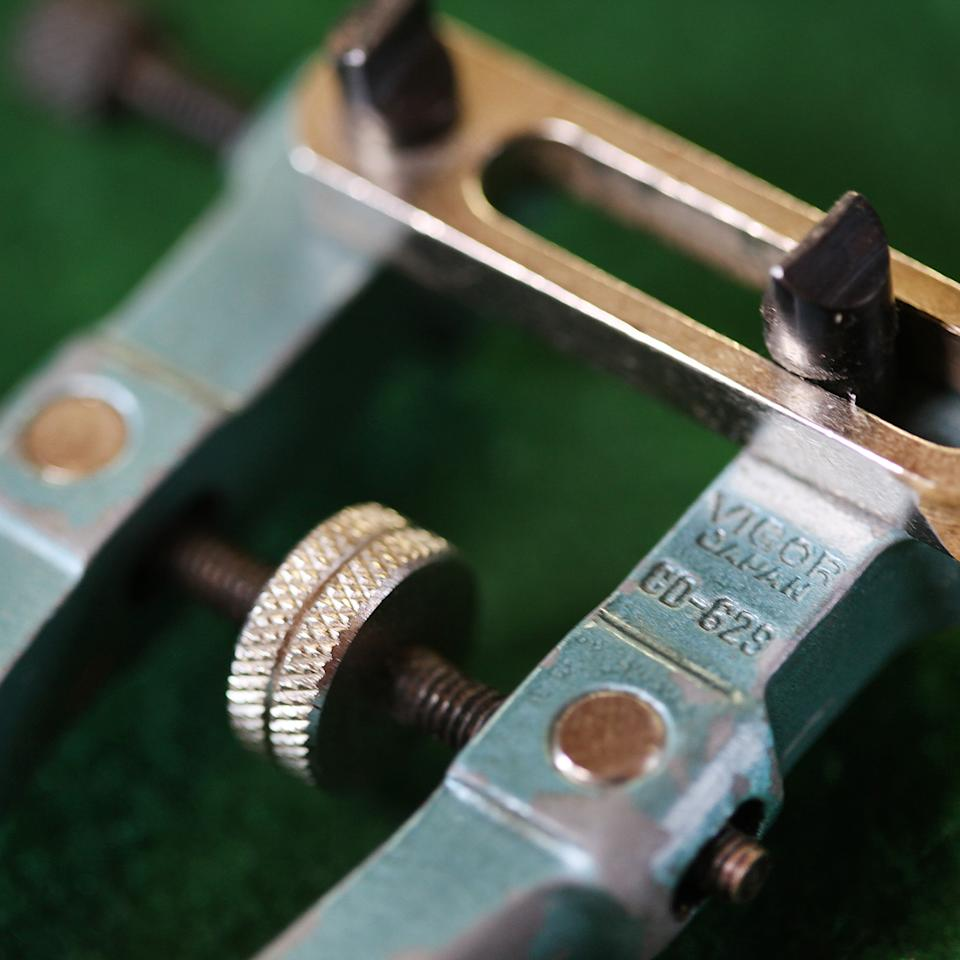 Detail of a back wrench. Shot at Mike Conroy's Ye Old Watch shop in Portsmouth, Va.