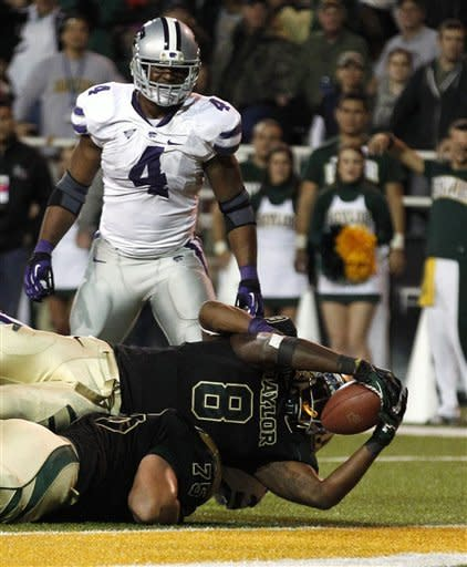 No. 2 Kansas State, Klein upset 52-24 at Baylor