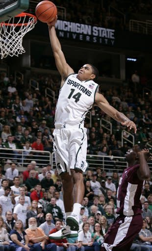 Michigan State routs Texas Southern, 69-41